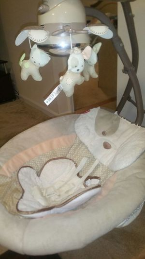 Fisher-price my little snugapuppy cradle n ' swing for Sale in Marietta, GA