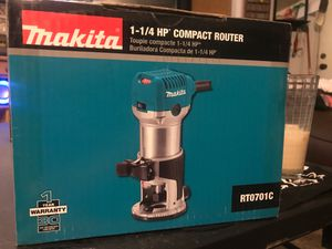 Makila 1-1/4 compact router for Sale in Portland, OR