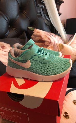 ebf543316db92 Nike Tanjun New teal toddler infant girl size 9 sneakers for Sale in Fresno