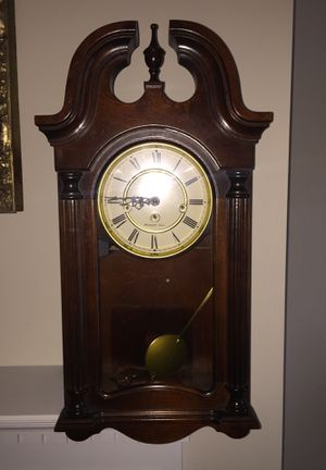 Howard Miller Wall Clock for Sale in Fuquay-Varina, NC