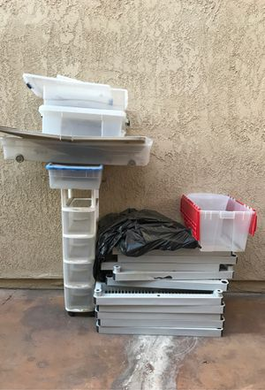 Storage Containers/Shelves for Sale in Ontario, CA