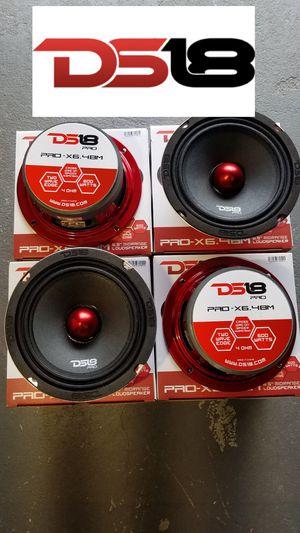 Ds18 Pro Audio 600w Loud Voice speakers $29 each(1)/Bosina fuerte y Clara para la voz 600w $29 Cada una(1) for Sale in Houston, TX