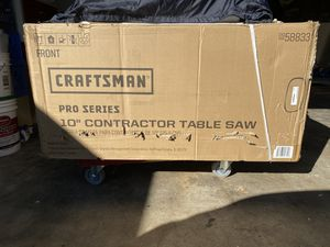 Craftsman pro series table saw for Sale in Pomona, CA