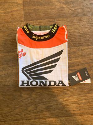 Supreme/Honda/Fox Racing Moto Jersey Top for Sale in Charlotte, NC