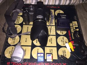 LUMIX digital camera (missing battery) for Sale in Montebello, CA