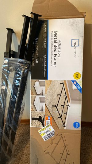 Adjustable Metal bed frame for Sale in Normal, IL