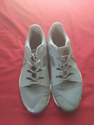 Gray Reebok shoes size 10.5 for Sale in Kansas City, MO