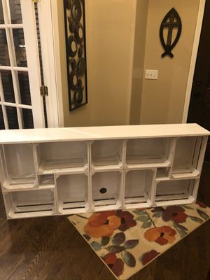"""Hand crafted entertainment table strong enough to hold a 75"""" tv for Sale in Nashville, TN"""