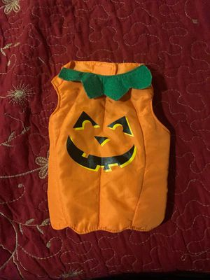 Xtra small dog pumpkin costume for Sale in Los Angeles, CA