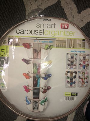 Carousel organizer/ shoe shelf for Sale in Chicago, IL