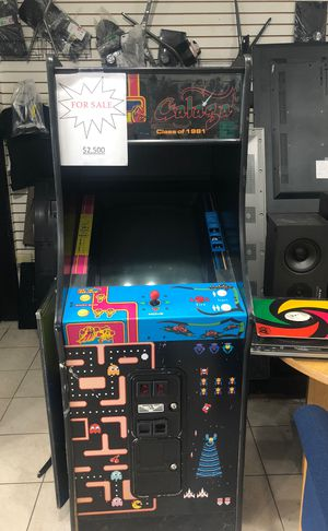 Pac-Man & Galaga Machine for Sale, used for sale  Cranford, NJ