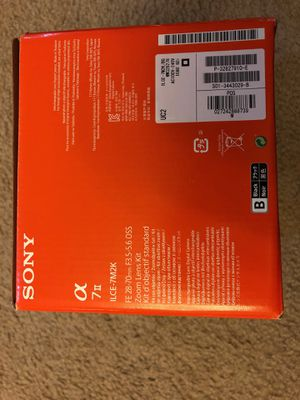 Brand new Sony a7ii for Sale in Laurel, MD