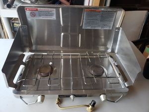 Brinkmann 2 Burner Propane Camping Stove for Sale in North Haven, CT