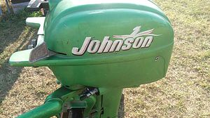 Johnson Outboard Motor 10 HP for Sale in Safety Harbor, FL