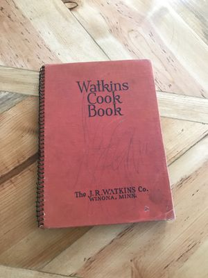 Watkins's Cookbook for Sale in Washington, IL