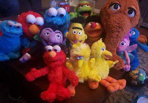Sesame Street Toys for Sale in Irving, TX