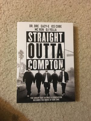 Straight Outta Compton DVD for Sale in Washington, DC