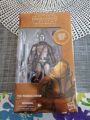 Star Wars The Black Series Carbonized Collection The Mandalorian Toy Figure (Target Exclusive) for Sale in Compton, CA