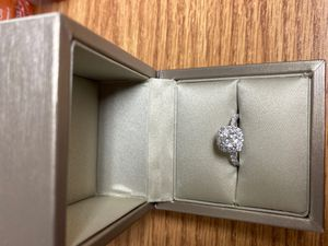 moissanite ring woman for Sale in Conway, AR