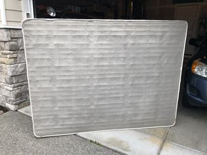 Free Queen Box Spring & Metal Frame for Sale in Kirkland, WA
