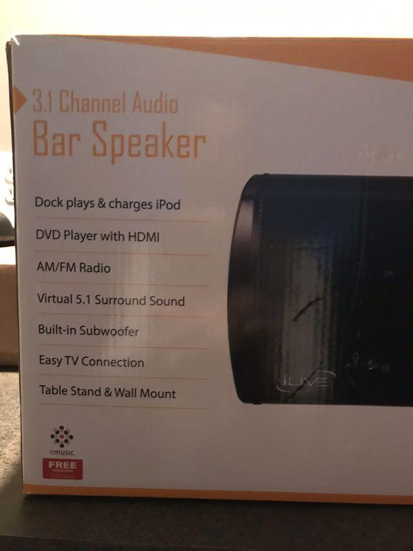 iLive bar speaker
