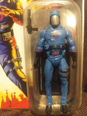 Authentic GI Joe cobra commabor action figure unopened for Sale in Eatonville, WA