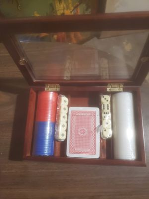 Poker Set for Sale in Springfield, MA