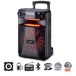 "Portable Bluetooth Speaker Party Sound 12"" Parlante Inalámbrico Bocina DOLPHIN SP-1200RBT for Sale in Miami,  FL"