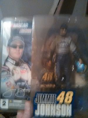 Jamey Johnson collectible action figure and diecast car for Sale in Columbus, OH