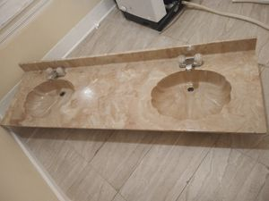 Negotiable. His and Hers Marble Seashell Sink for Sale in Allentown, PA