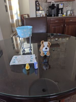 Meatloaf dog washing set for bitty baby's or American girl dolls for Sale in Mesa, AZ
