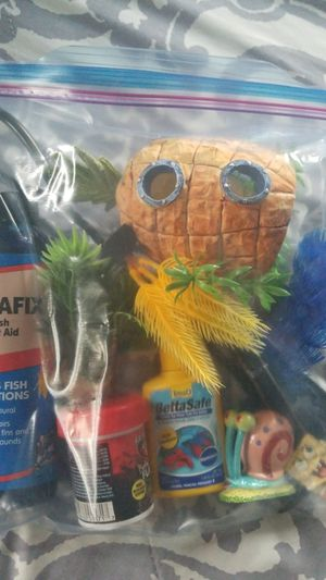 Fish tank decorations for Sale in National City, CA