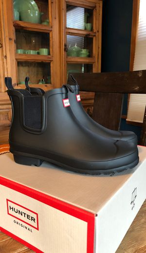 New HUNTER boots women's 6.5 kids 5 EU37 for Sale in Tacoma, WA