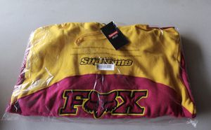 Supreme Fox Racing Hooded Sweatshirt Size XL Pink Yellow FW20 New In Hand Hoodie for Sale in Cupertino, CA