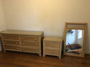 Rattan Dresser Set for Sale in Arlington, VA