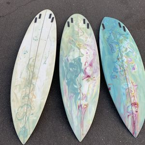 Brand New Rounded Pin Quad Surfboard for Sale in Ladera Ranch, CA