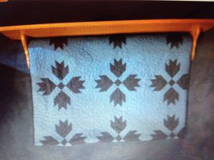"""2 custom hand made oak Quilt rack with top shelf and plate rail - selling two, one is 36"""" wide the other 48"""" wide with a wider shelf, both NEW, an ex for Sale in Poulsbo, WA"""