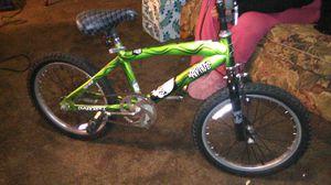 Likenew Riptide dynatechboys bmxbike lime green 18inch for Sale in Salt Lake City, UT