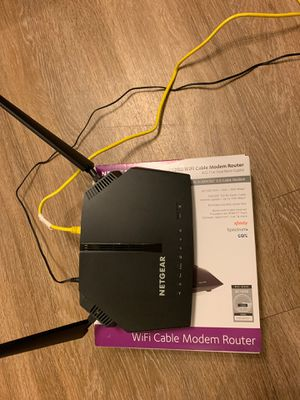 WiFi cable model router for Sale in Denver, CO