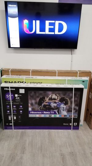 55 INCH HISENSE ROKU 4K SMART TV for Sale in Chino, CA