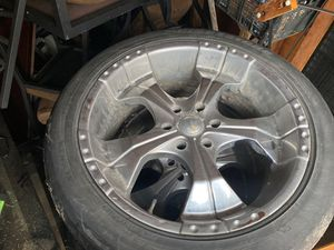 "22"" 6 lug rims for Sale in Springdale, AR"