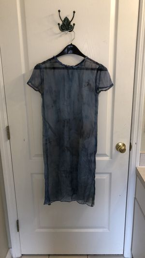 Sheer Blue Gradient Kameez Tunic (Size S) for Sale in Tampa, FL