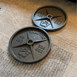 Brand New 45lb Olympic Weights for Sale in Portland,  OR