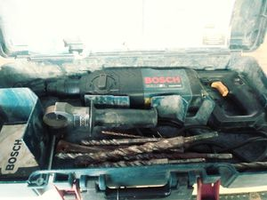 Bosch hammer carbide for Sale in Inverness, FL