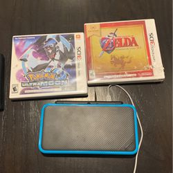 Nintendo 3DS System, Games And Charger Bundle for Sale in Monroe,  NY