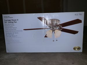 "Brand New - Carriage House 52"" Ceiling Fan for Sale in Kent, WA"