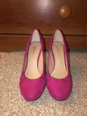 Hot pink work heels! (7.5-8) for Sale in West Springfield, VA