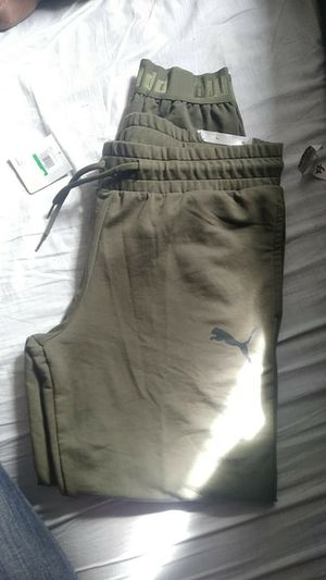 Puma army green joggers for Sale in Salt Lake City, UT