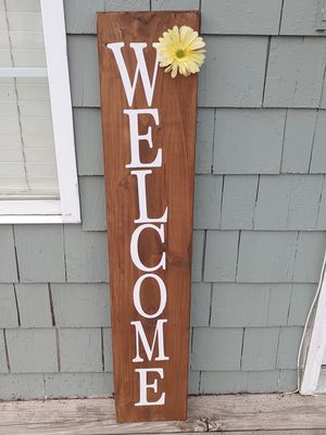Handmade Welcome sign for Sale in Mission, KS