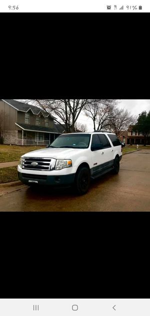 Ford Expedion EL 2007 5.4 for Sale in Garland, TX